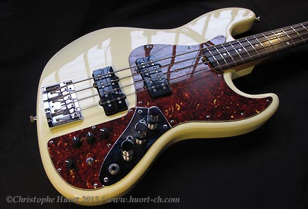 "SRX-3 ""Ultimate"" active tone retrofit for Marcus Miller Jazz Bass® - www.huort-ch.com"