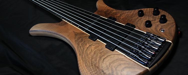 "F-Lower 6 strings Bass | 36"" X-Tra Long scale fretless bass"