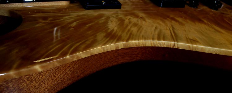 Custom-I model | 7 strings custom (Birch top)