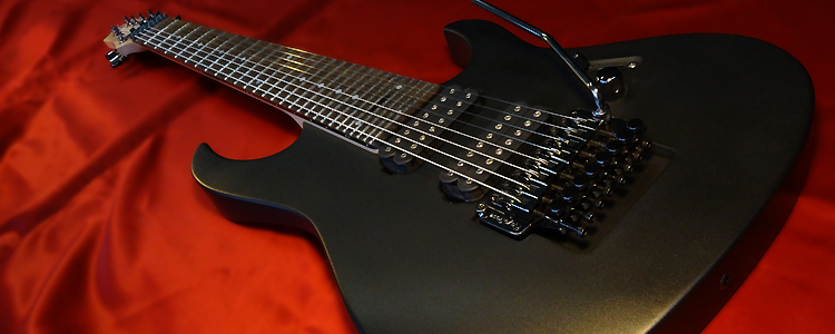"Custom-I model | 8 strings (""Graphite black"" finish)"