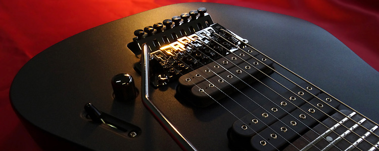 Custom-I model | 8 strings (Floyd Rose® tremolo)